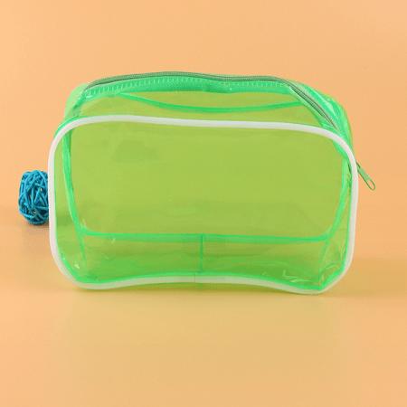 camping wash bag zip closure