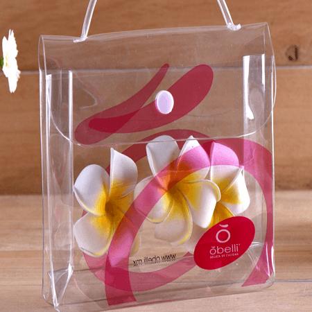 organizer tote bag pvc shopping bag