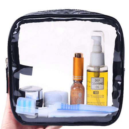 travel clear toiletry bag organizer bag