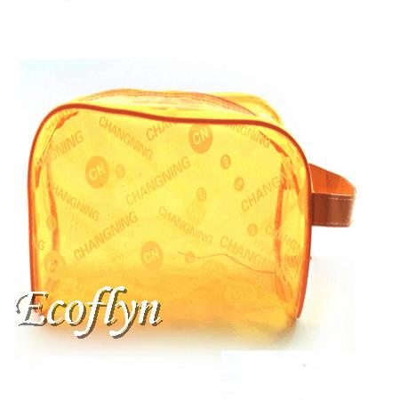 orange beach bags sale custom print swimming suit storage bags