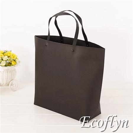 black paper packaging gift handbags