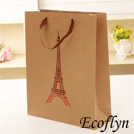 brown paper bags with handle online sale