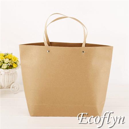 brown paper packaging paper carrier bags