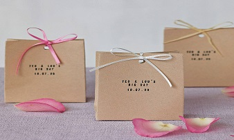 custom printed wedding paper decoration bags supply
