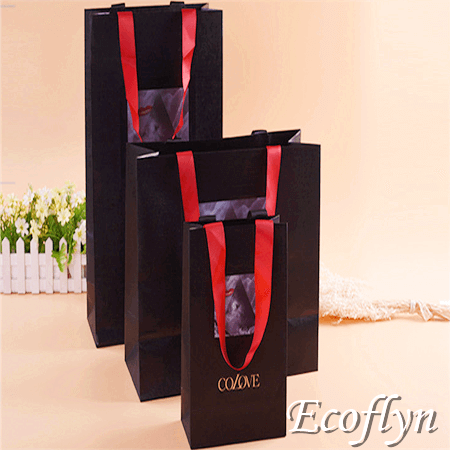 discount kraft paper bags with handles