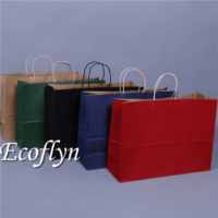 hot custom kraft paper bags bulk