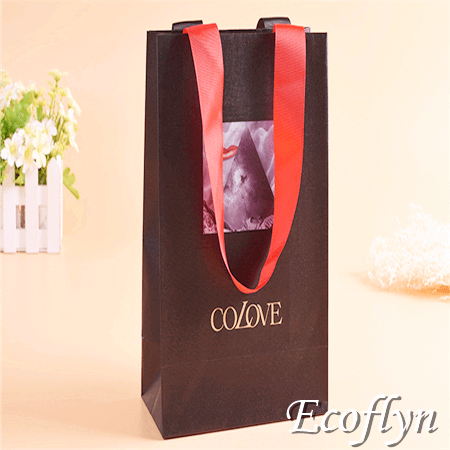 kraft paper bags with handles tote gift bags