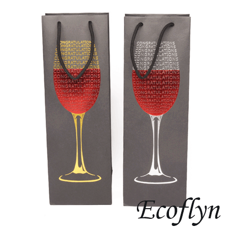 luxury paper bags wine bottle bags wholesale get a sample today