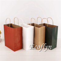 premium kraft paper shopping bags