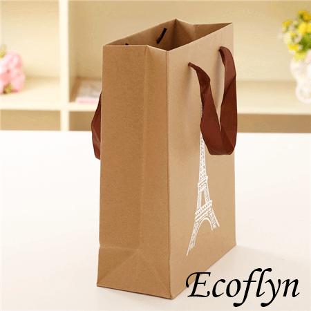 premium quality brown paper bags with handle