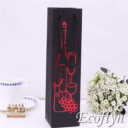 Personalized Wine Bags Bulk Bottle Carrier With Handles Supply