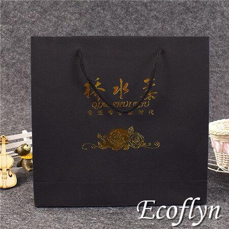 black gift bags bulk supplying online