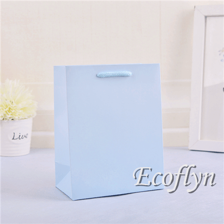blue online paper bags neon gift bags sale