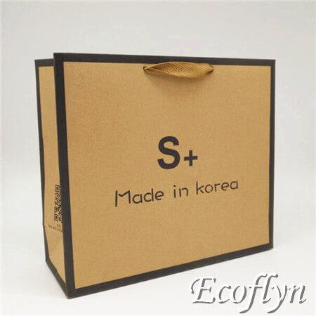 148012b7fc Custom Design Brown Paper Bag Bulk Kraft Retails Bags Discount Wholesale