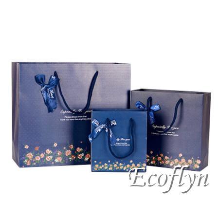 bulk navy blue gift bags