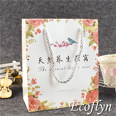 bulk paper gift bags with twisted handle online sale