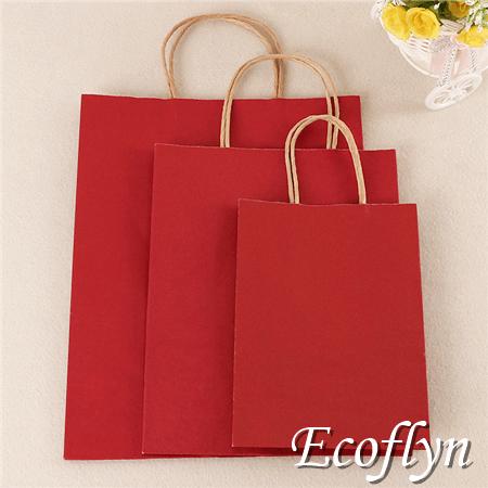 colored paper bag decoration kraft handbags discount offer