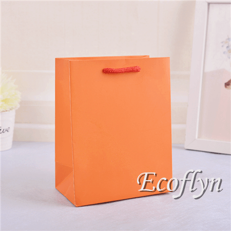 customized orange gift bags online paper bags wholesale