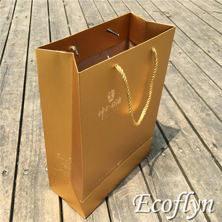 gold gift bags promotion bags online