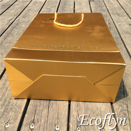 gold gift bags shopping tote bags supply
