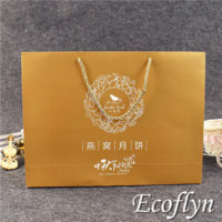 gold party bags paper gift bags wholesale