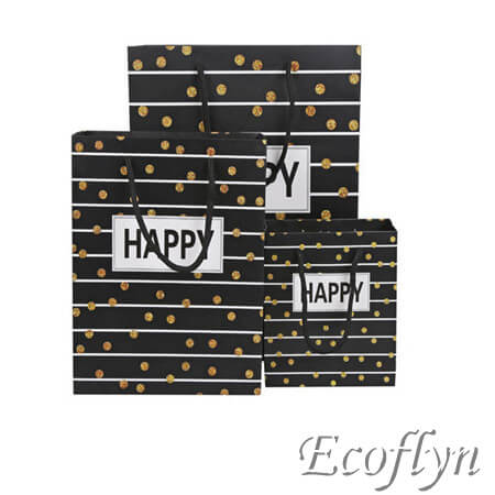 paper bags decoration with handle