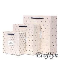 polka dot gift bags in bulk