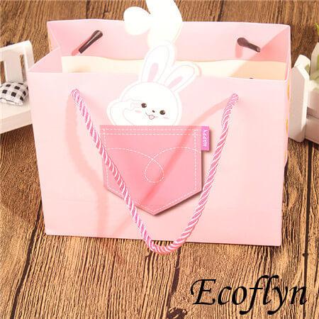 premium quality pink gift bags bulk