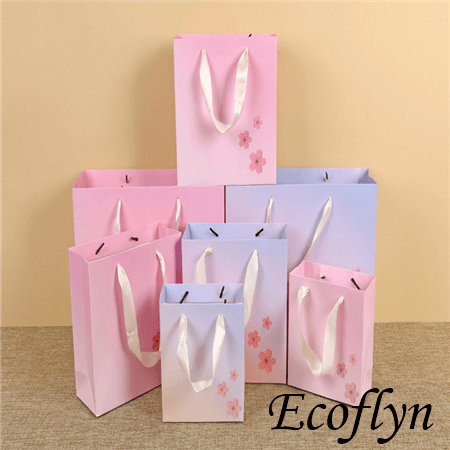 printed logo shopping bags wholesale