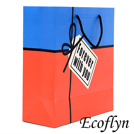 red & blue birthday gift bags ideas