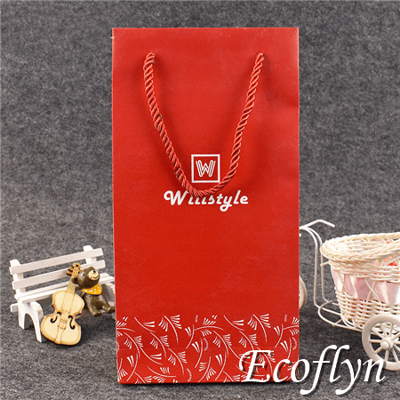 red gift bags jewelry shopping tote bags sale