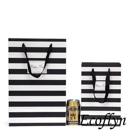 striped paper party bags discount supply