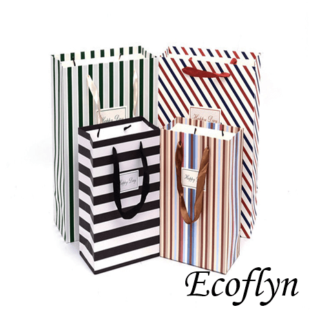 striped paper party bags online offer