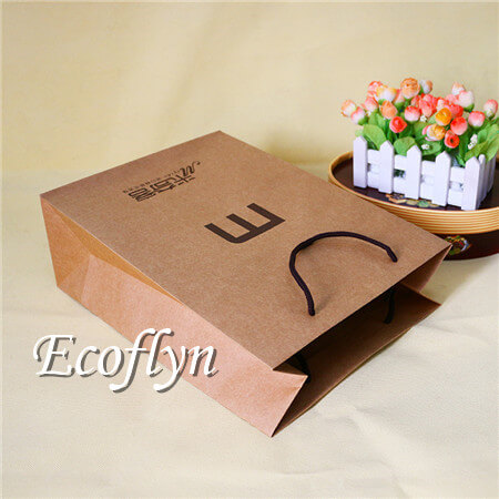Brown Paper Bags With Handles Bulk Whole