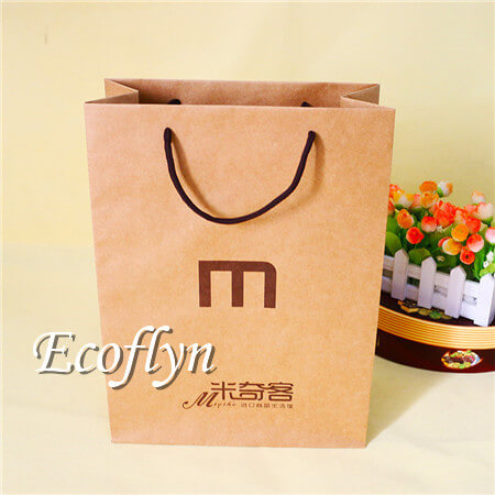 Brown Paper Bags With Handles Bulk