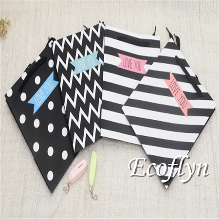 discount offer black gift bags bulk