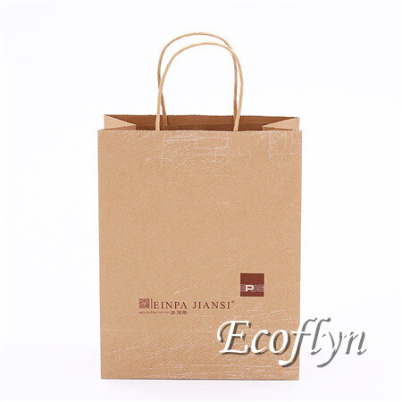 kraft paper shopping bags promotional tote bags