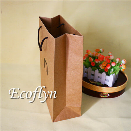 Kraft Ping Bags Brown Paper With Handles Bulk