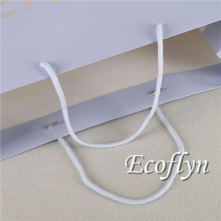 paper shopping bags cheap with rope handles