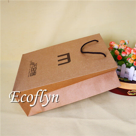 Promotional Brown Paper Bags With Handles Bulk