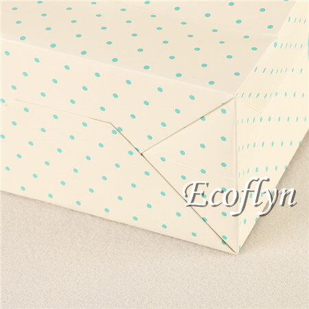 square bottom paper shopping bags with handles
