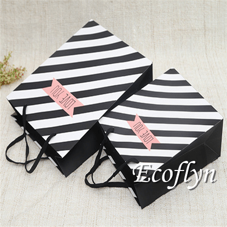 white black gift bags bulk sale