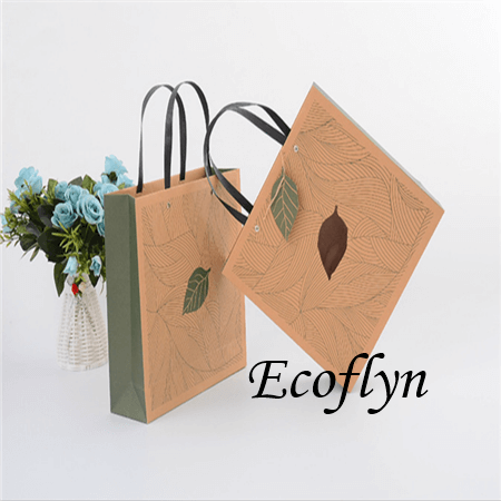 custom printed paper shopping bags wholesale
