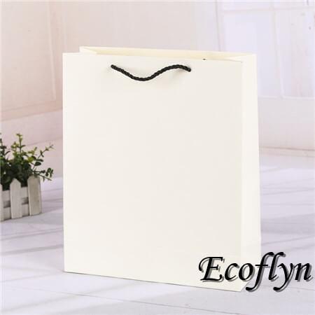 discount white plain paper bags