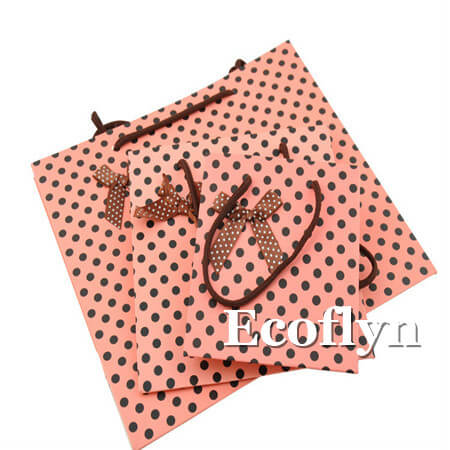 flat gift bags with handles wholesale