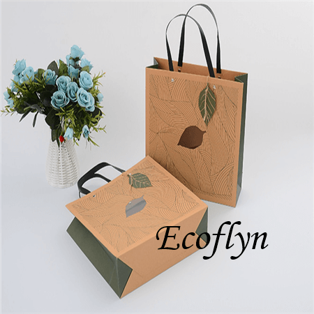hot sale printed paper shopping bags promotion bags