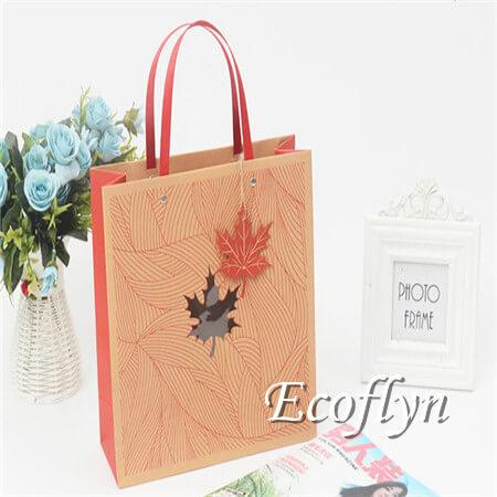 hot sale red gift bags bulk offer-Ecoflyn
