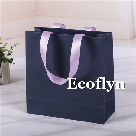 navy blue shopping bags bulk