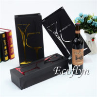 paper wine bags with handles