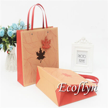 Personalized Medium Red Gift Bags Paper Bulk Whole